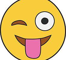Tongue Out Emoji by embati