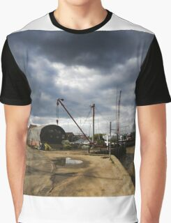 Tollesbury Harbour Graphic T-Shirt