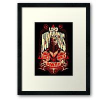 ROAD WARRIOR: LORD HUMUNGUS Framed Print