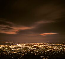Night in Albuquerque by IOBurque