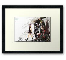 Guilty Crown - Undertaker Framed Print