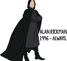 Snape - Tribute to Alan Rickman by SarGraphics