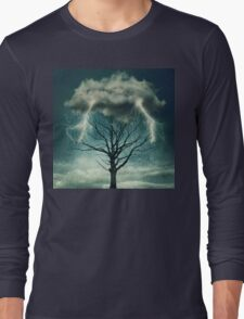 Dramatic storm Long Sleeve T-Shirt