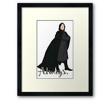 Snape - Always Framed Print