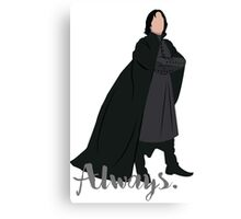 Snape - Always Canvas Print