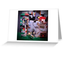 Flying Lesson Greeting Card