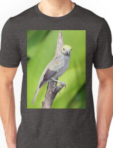 Palm Tanager Green Leaves Unisex T-Shirt