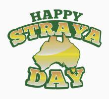 Happy STRAYA (Australia) day One Piece - Short Sleeve