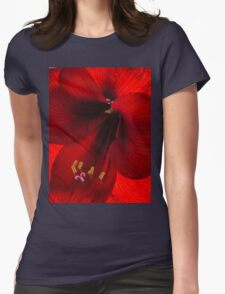 Winter Sunshine Womens Fitted T-Shirt