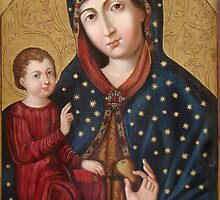 Polish Virgin Mary holy icon by tanabe