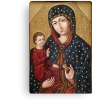 Polish Virgin Mary holy icon Canvas Print