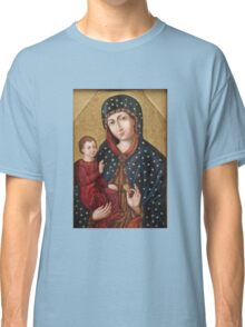 Polish Virgin Mary holy icon Classic T-Shirt