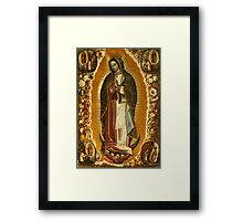 Virgin Mary of Guadelupe, patroness of the Americas Framed Print