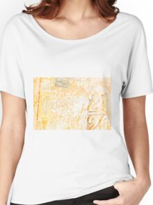 Old rusty Chesterfield sign. Women's Relaxed Fit T-Shirt