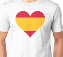A heart for Spain Unisex T-Shirt