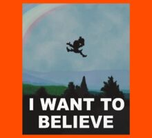 I Want To Belive (Leprechaun) Kids Tee