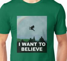 I Want To Belive (Leprechaun) Unisex T-Shirt