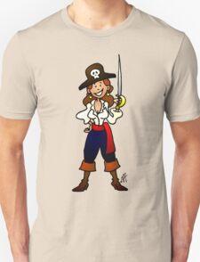 Pirate girl Unisex T-Shirt