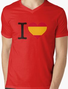 I love Spain Mens V-Neck T-Shirt