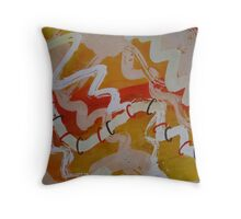 String Theory 1 - section of abstract  Throw Pillow