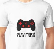 Play music (black) Unisex T-Shirt