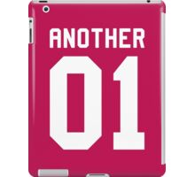 Another 01 (white font) iPad Case/Skin