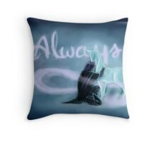 "'-After all this time? -Always"" Throw Pillow"