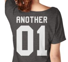 Another 01 (white font) Women's Relaxed Fit T-Shirt