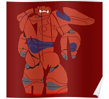 Baymax Armour Poster