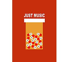 Just music Photographic Print