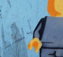 Blank Lego Man Sticker