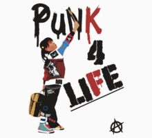 "Punky ""Punk 4 Life"" Brewster One Piece - Long Sleeve"