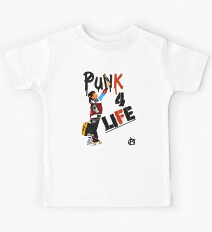 "Punky ""Punk 4 Life"" Brewster Kids Tee"