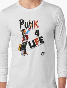 "Punky ""Punk 4 Life"" Brewster Long Sleeve T-Shirt"