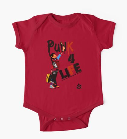 """Punky """"Punk 4 Life"""" Brewster One Piece - Short Sleeve"""