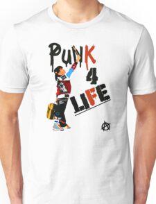 "Punky ""Punk 4 Life"" Brewster Unisex T-Shirt"