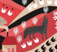 Wolf's Promise Land Sticker