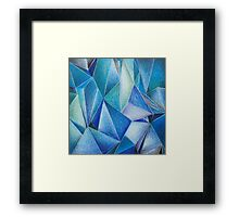 cool mirror reflection Framed Print