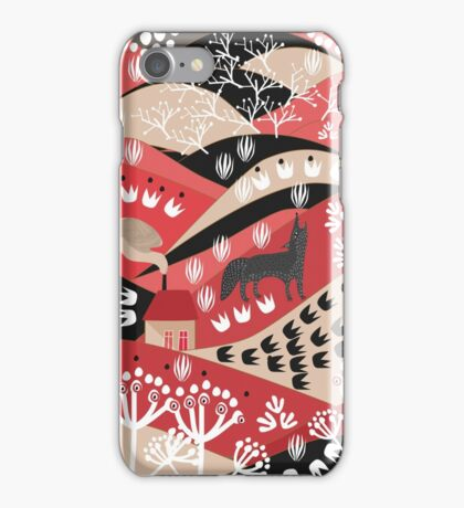 Wolf's Promise Land iPhone Case/Skin