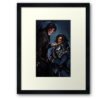 Dishonored - What will history tell us? Framed Print