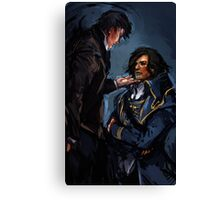 Dishonored - What will history tell us? Canvas Print