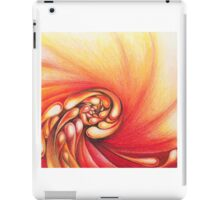 hot fire rolling iPad Case/Skin