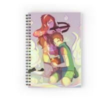 growing up together Spiral Notebook