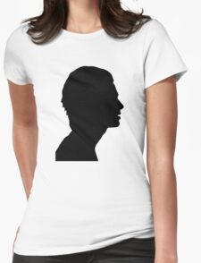 Matty Healy Silhouette  Womens Fitted T-Shirt