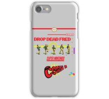 "Drop Dead Fred ""16 Bit"" iPhone Case/Skin"