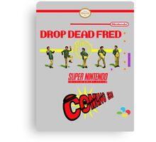 "Drop Dead Fred ""16 Bit"" Canvas Print"