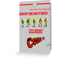 "Drop Dead Fred ""16 Bit"" Greeting Card"