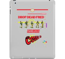 "Drop Dead Fred ""16 Bit"" iPad Case/Skin"