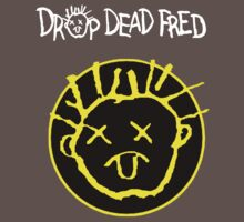 Drop Dead Fred Smiley Face One Piece - Short Sleeve