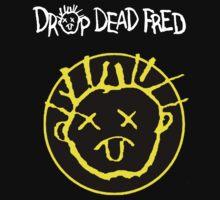 Drop Dead Fred Smiley Face Kids Tee